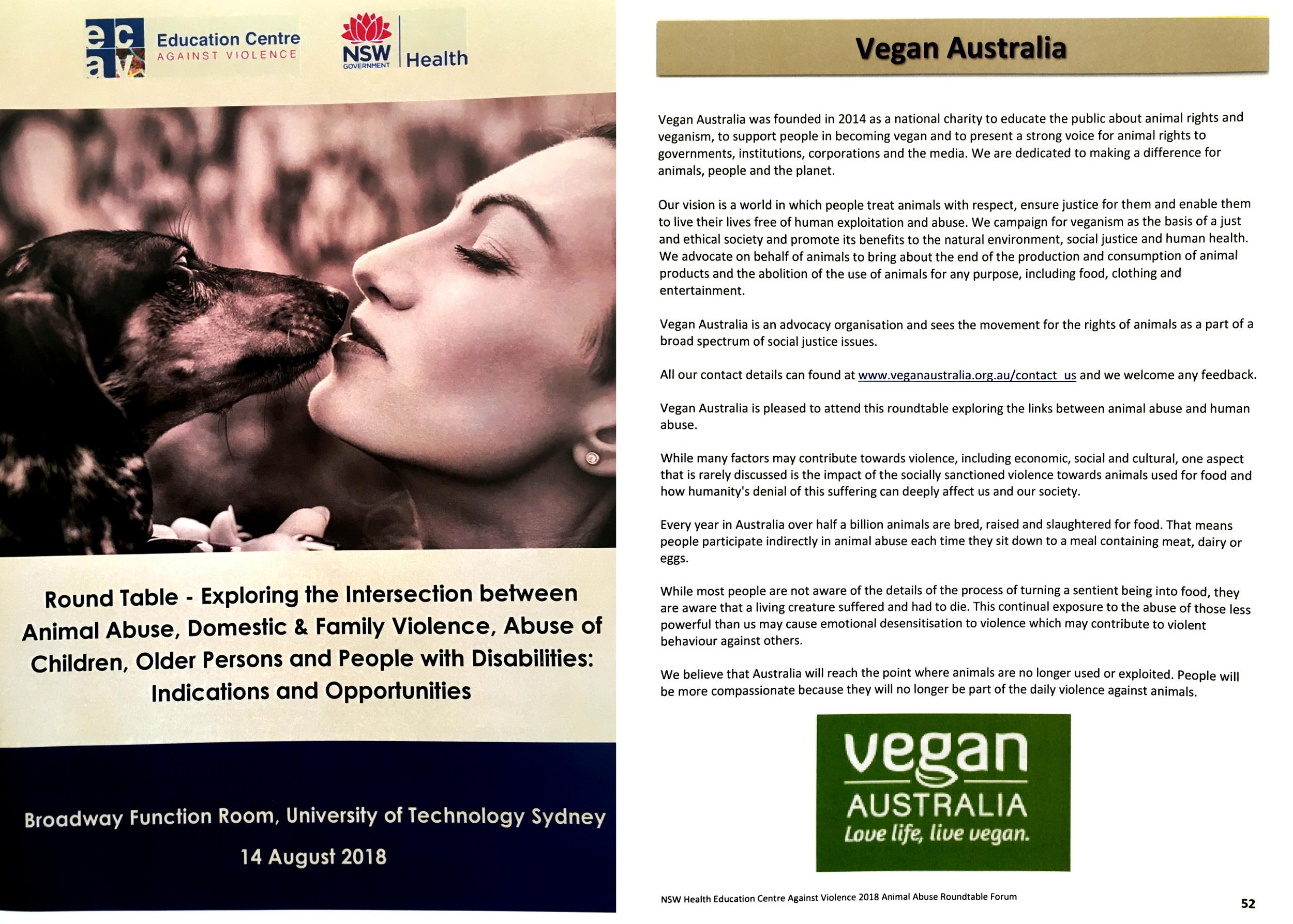 In the media - Vegan Australia