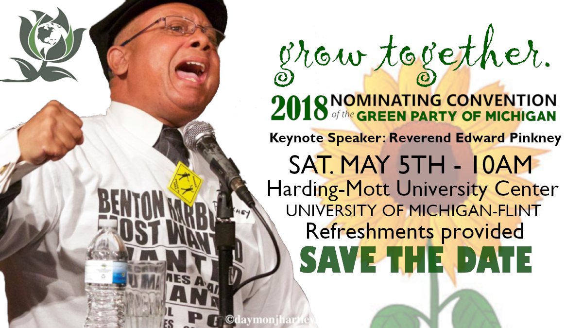 2018 Nomination Convention of the Green Party of Michigan