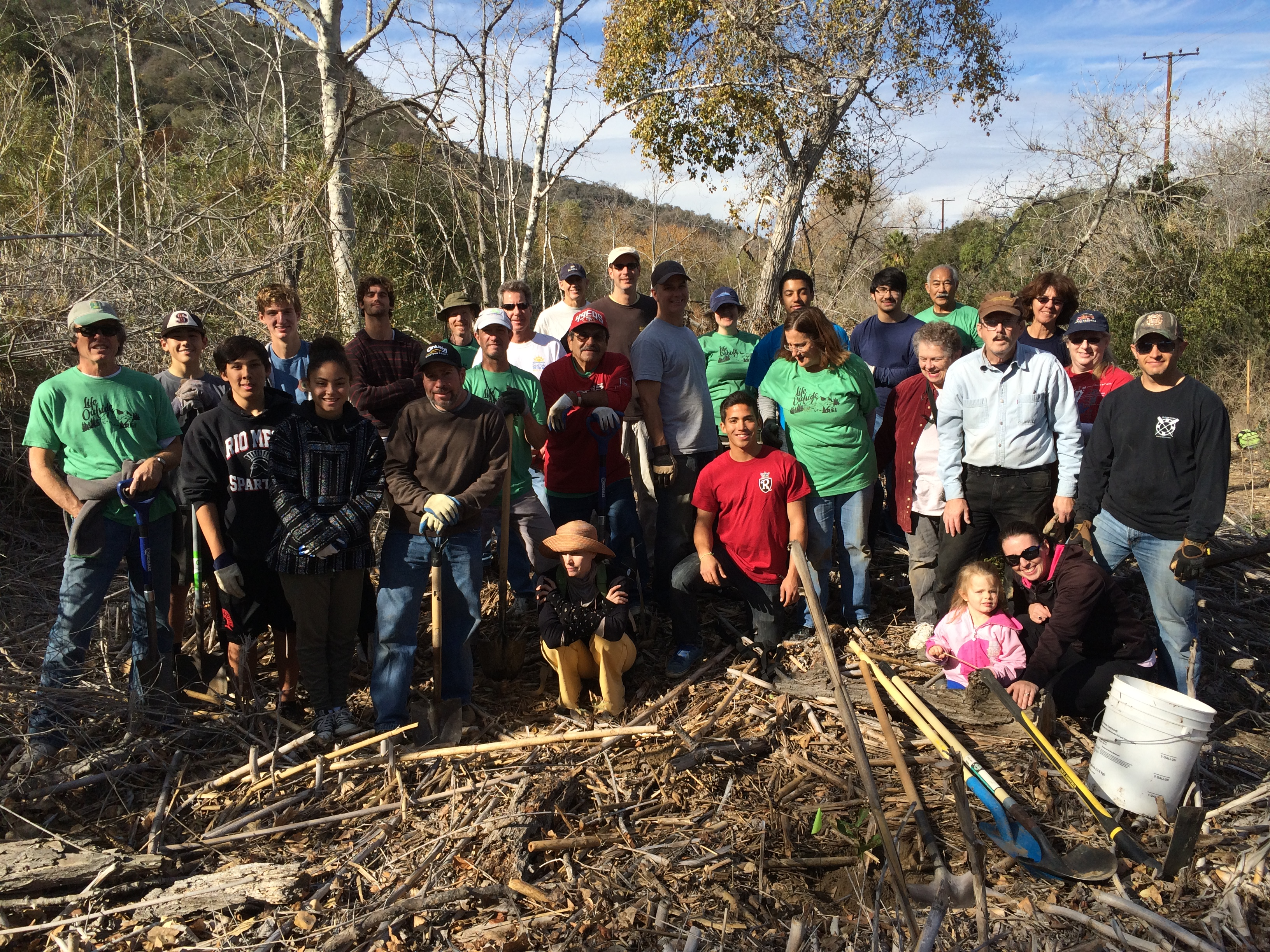 Ventura Land Trust Volunteers