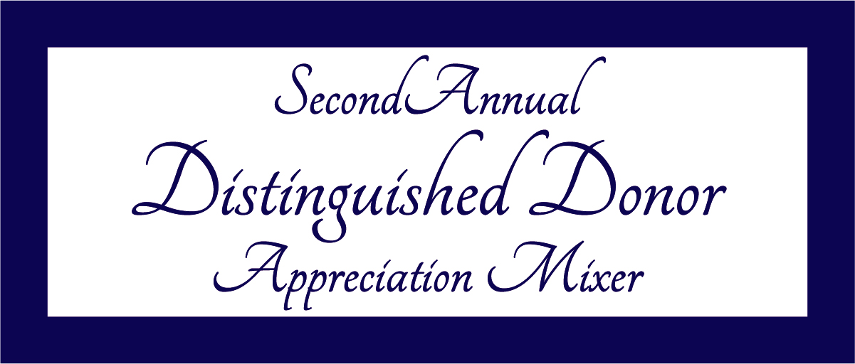 Distinguished Donor Event