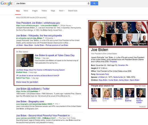 Some also say that image descriptions have an impact on SEO with keywords and such, but we aren't that worried about ranking all that high on Joe Biden's SEO.