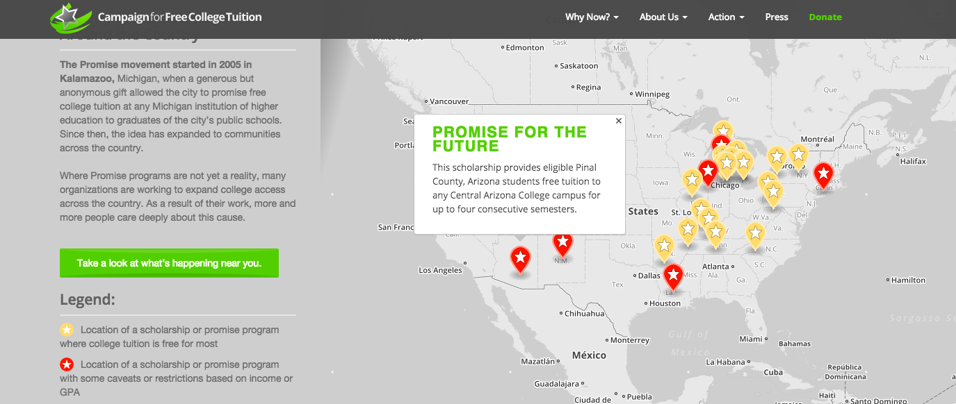 Mapping CFCT's Promise Programs