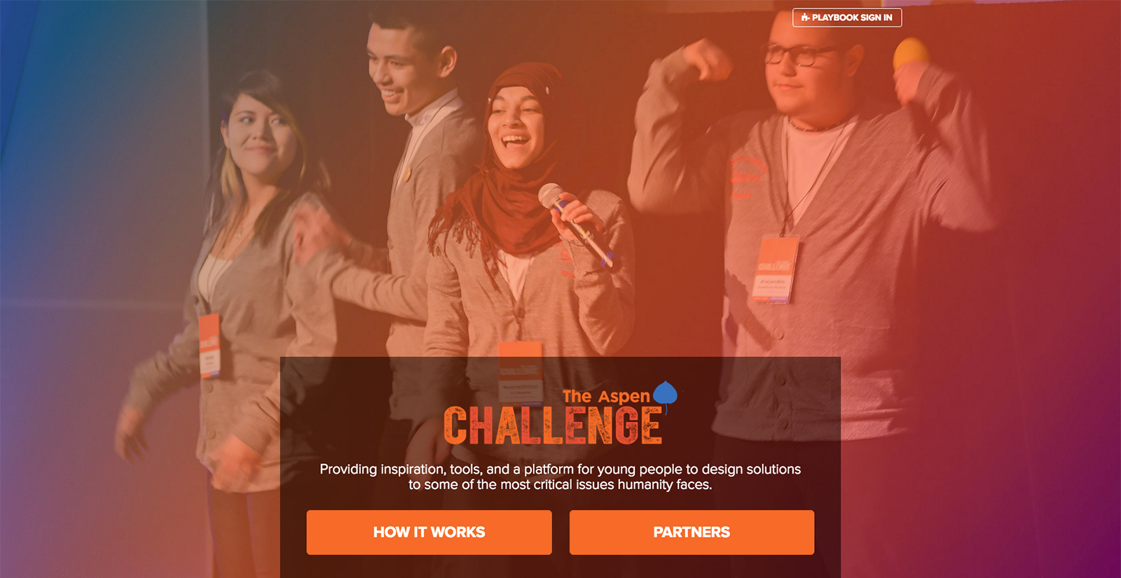 The Aspen Challenge's new website by Veracity Media