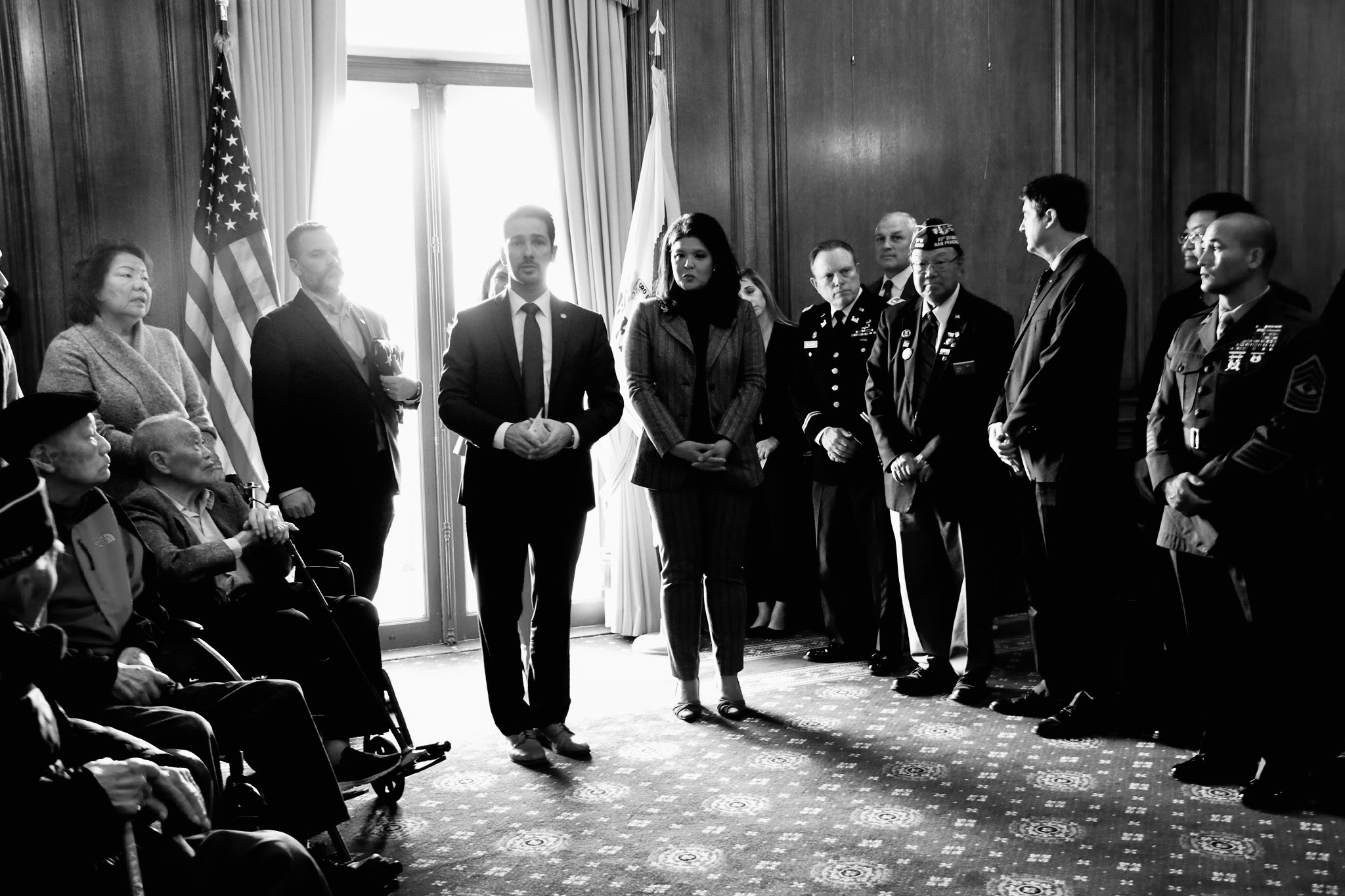 Leading Veterans Month Legislation