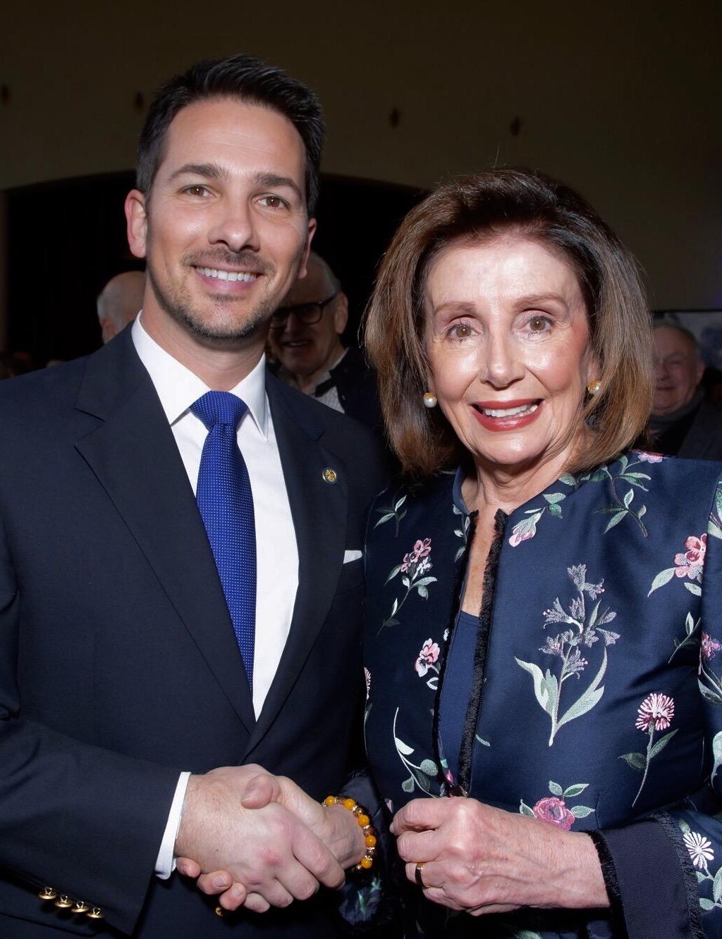 Speaker Pelosi endorses Dr. Olivieri