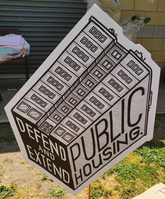 Public Housing Placard