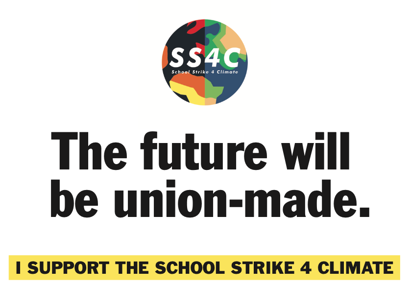 The future will be union made selfie sign