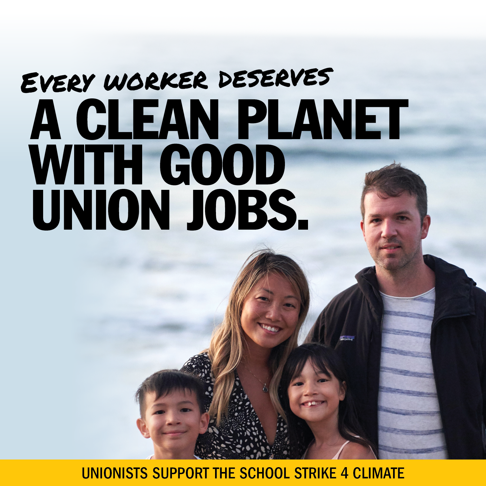 a clean planet with good union jobs