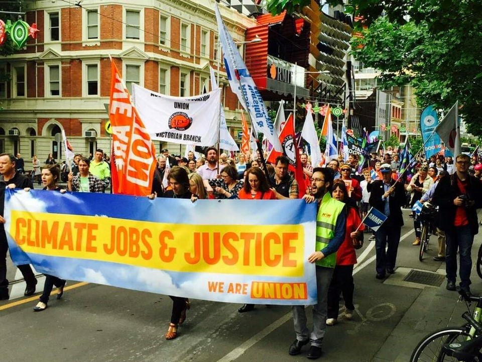 Climate Justice Rally