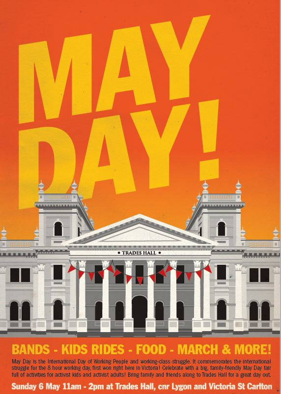 May Day 18 poster