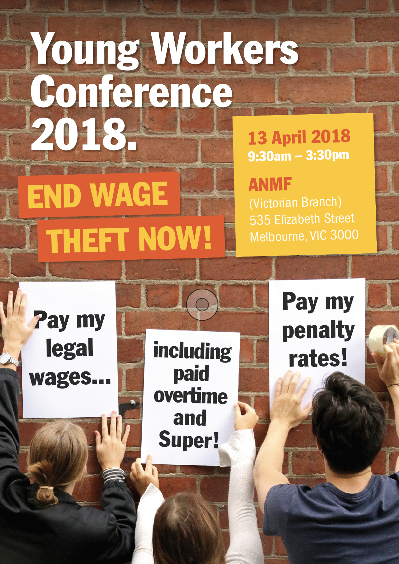 Wage Theft Conference Poster
