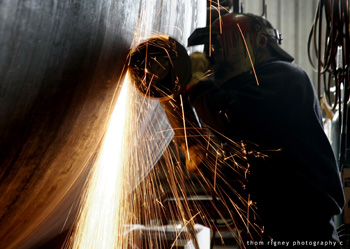 Welding at Keppel Prince