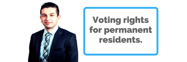 Permanent Resident voting rights