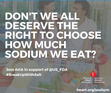 FDA Announces Voluntary Sodium Targets for Food Companies & Restaurants