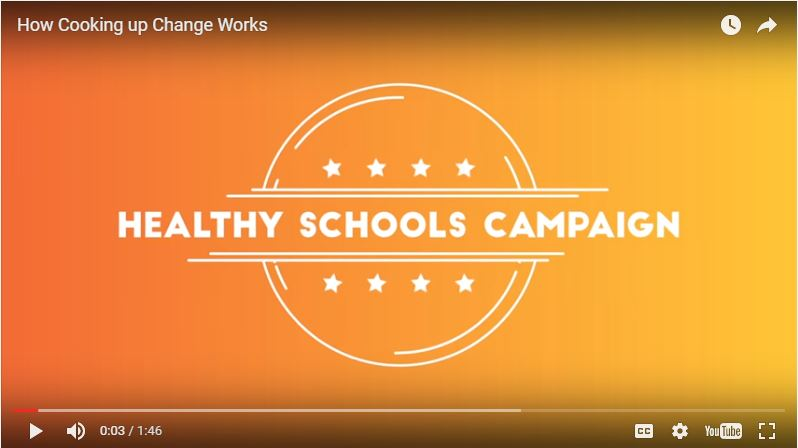 'Cooking up Change' Winners Promote Forward-Looking Child Nutrition Legislation