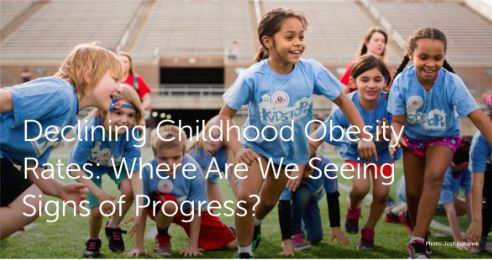States & Communities Report Declining Childhood Obesity Rates