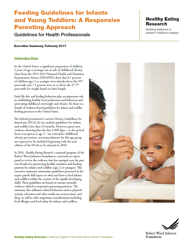 HER Infant Feeding Guidelines