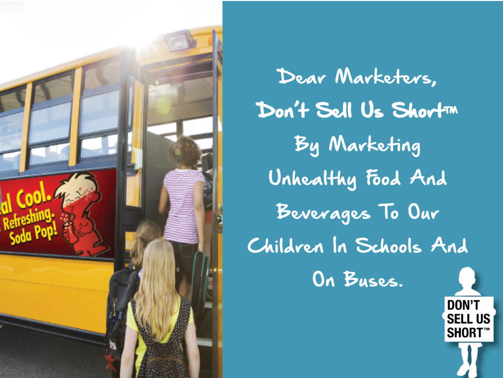 "Food Marketing in Schools: Not ""centsible"" for School Funding"