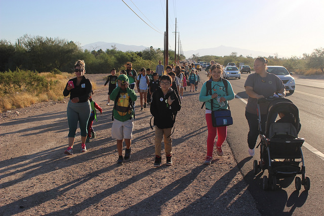 Fostering a Walking and Biking Culture at Los Amigos in Tucson, AZ