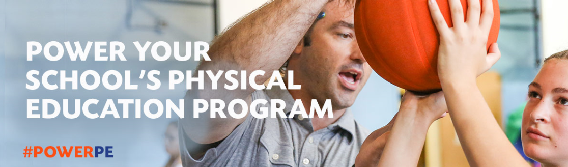 Power P.E. with up to $2,000 in Physical Education resources and equipment for your school