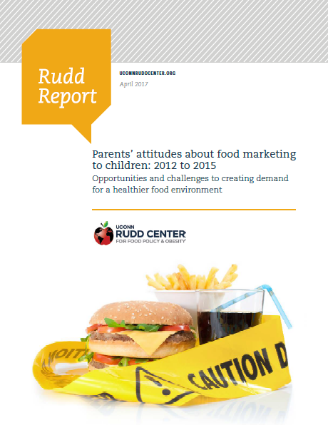 UConn Rudd Center Releases New Food Marketing Report