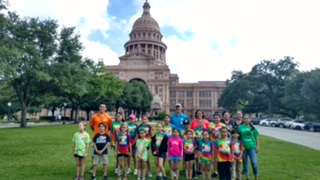 Texas Students Jump for PE