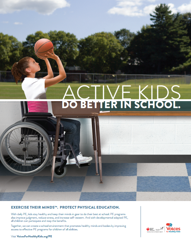 Need School Food, Wellness or Physical Education Resources for Your Campaign? We Have Them!