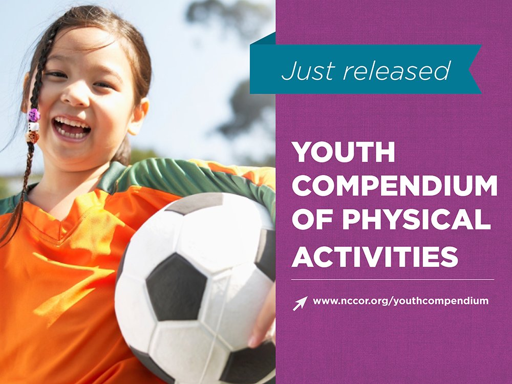 NCCOR launches Youth Compendium of Physical Activities