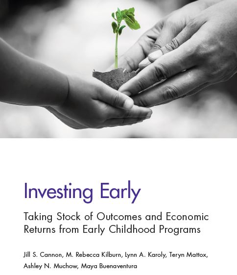 New Report on Outcomes and Economic Returns from Early Childhood Programs is Released!