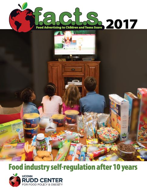 UConn Rudd Releases New Report on Unhealthy Food Ads
