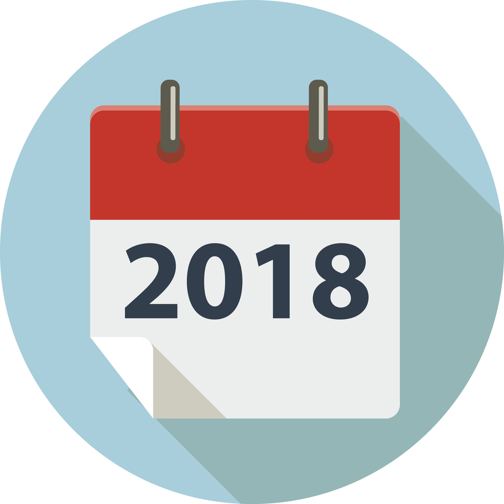 Set up your 2018 marketing calendar today!