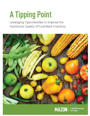 New Report Offers Three Strategies for Food Banks to Distribute Healthier Foods
