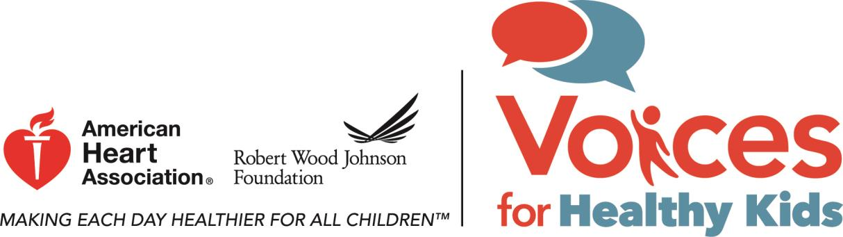 The American Heart Association has an Opening for Senior Manager, Field Consultation, Voices for Healthy Kids Initiative