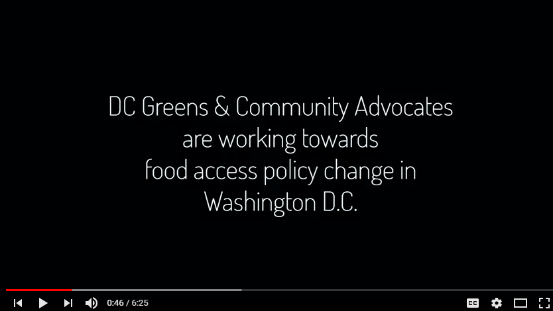 DC Greens: Overcoming Food Insecurity in the Nation's Capital