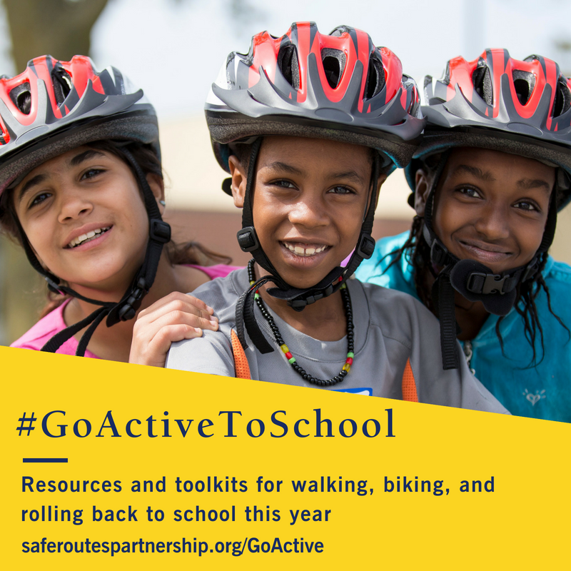 Go Active to School – Resources and Toolkits for Walking, Biking, and Rolling Back to School This Year
