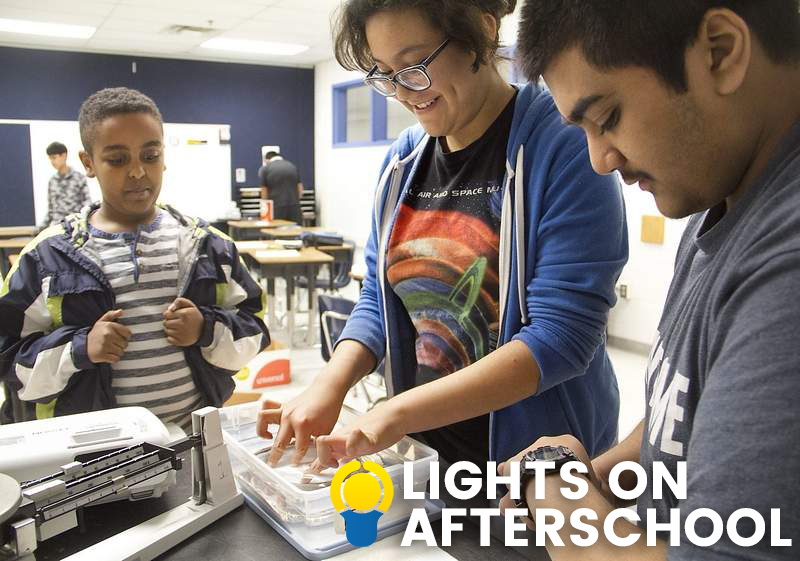 Join Millions of Americans in Celebrating Lights On After School!