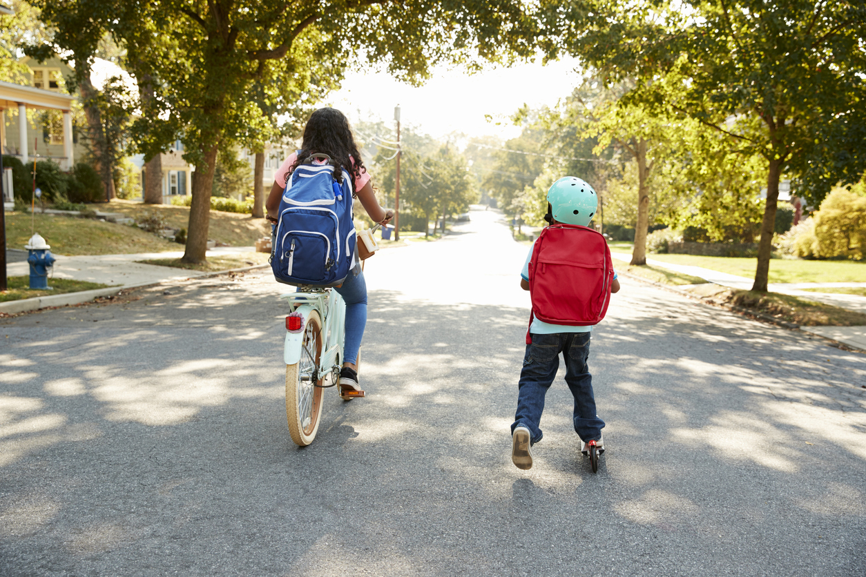 Supporting Healthy Kids and Communities Through Safe Routes to School