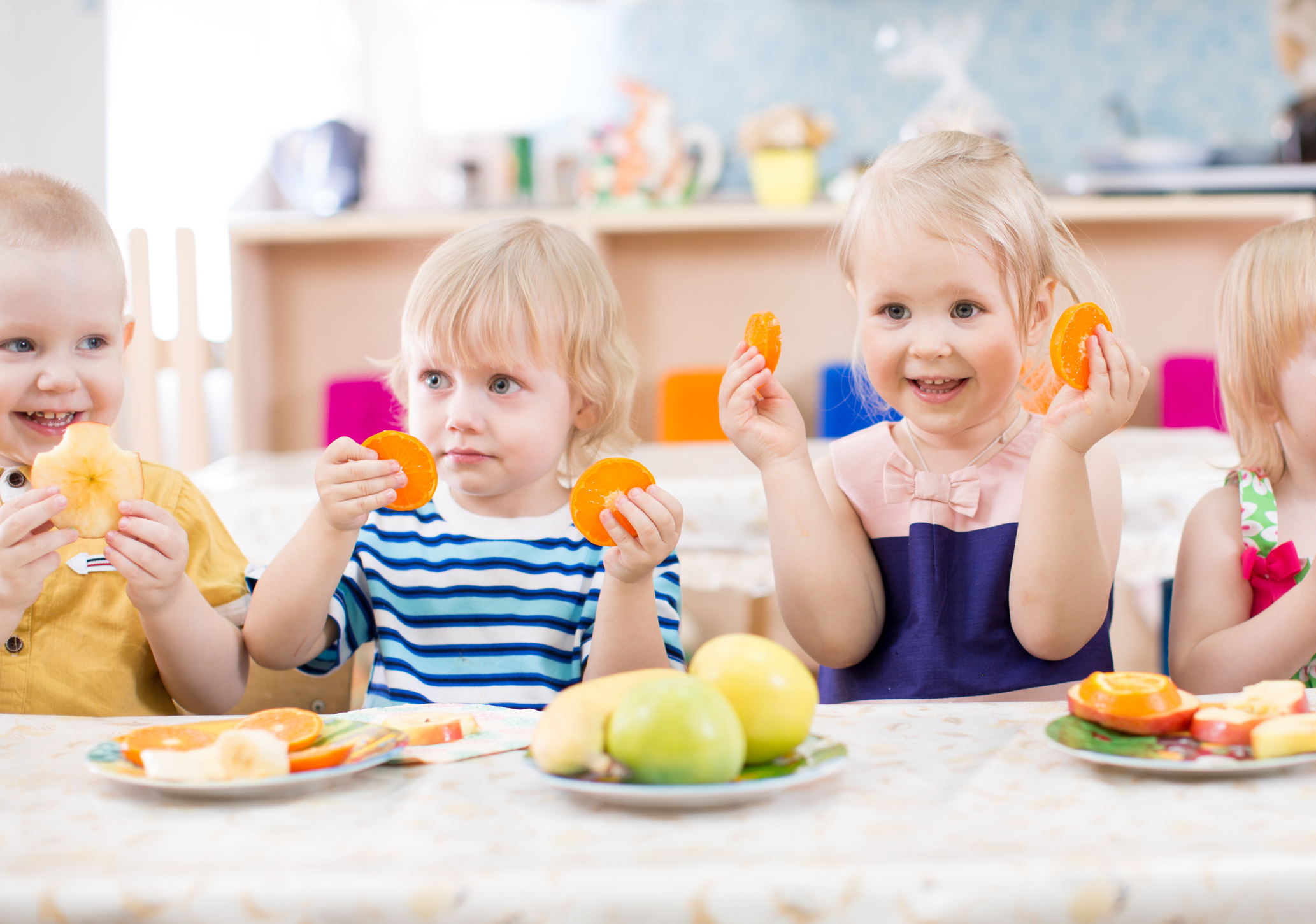 10-State Program Increases Healthy Eating and Physical Activity Best Practices at Child Care Facilities