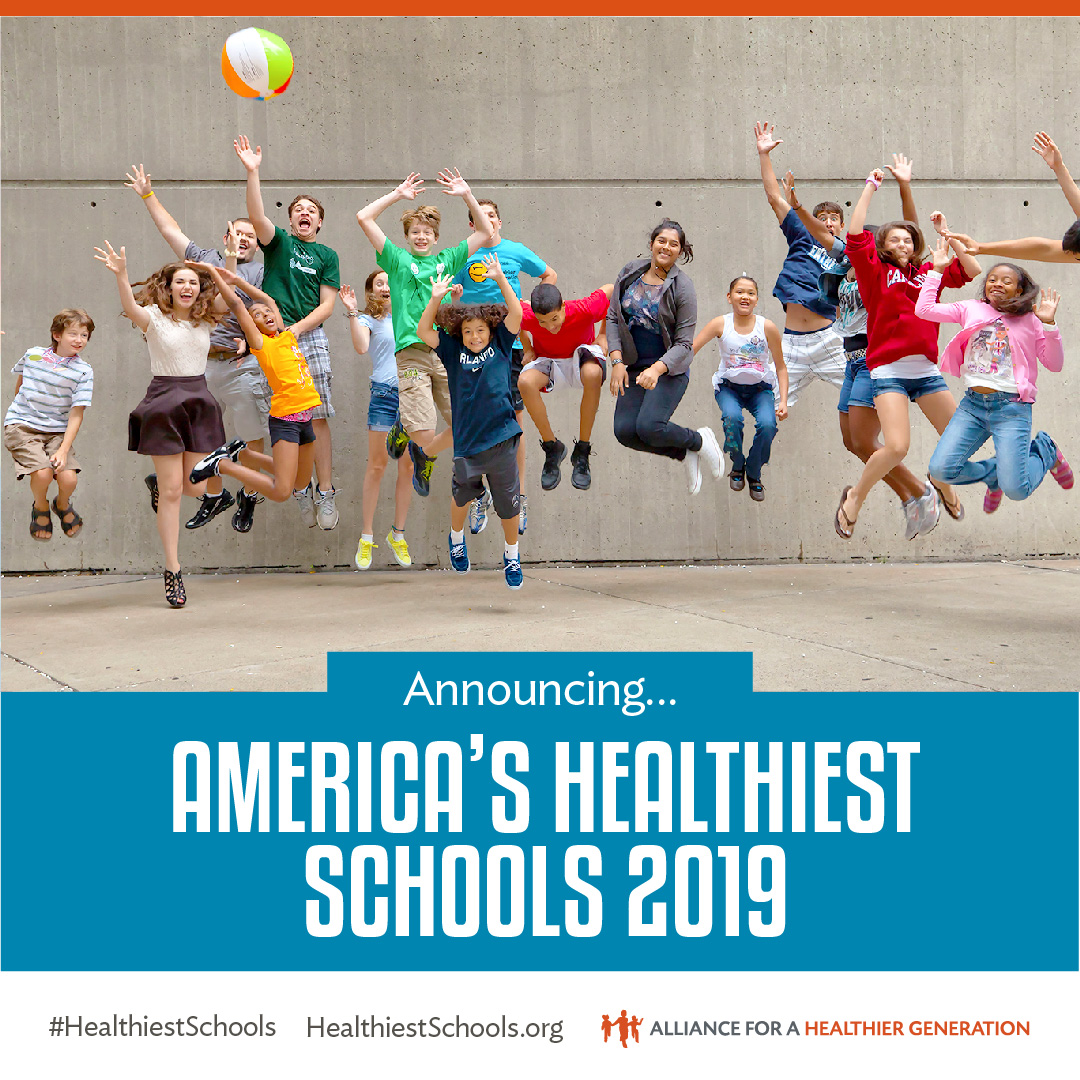 The 2019 List of America's Healthiest Schools is Here