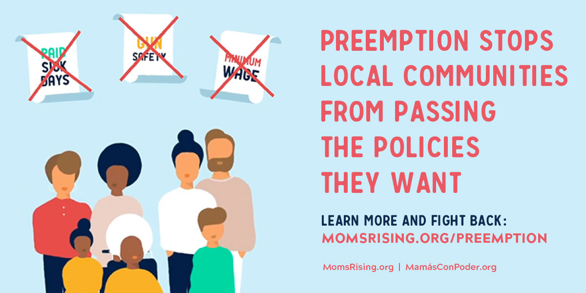 New Resource: Preemption Explainer from MomsRising