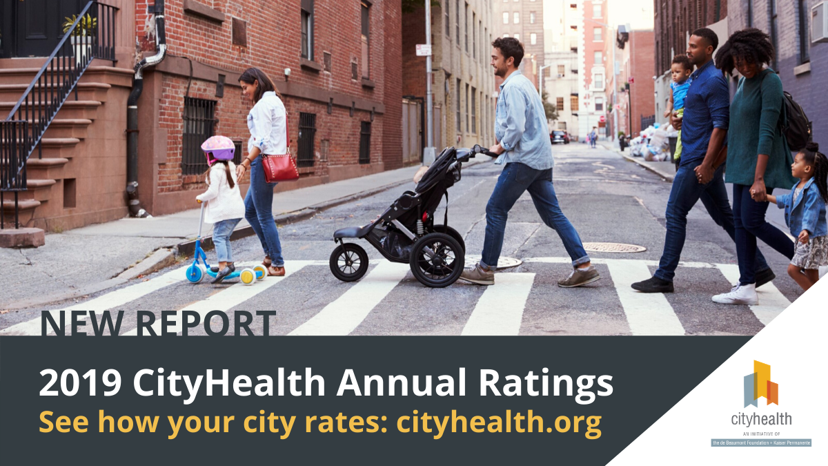 CityHealth Announces New 2019 City Policy Ratings