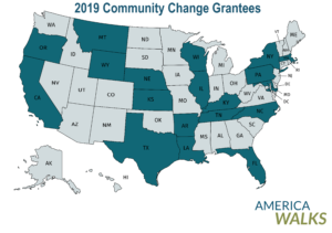 America Walks Announces Community Change Grantees