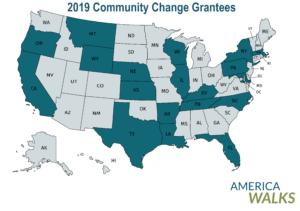 America Walks Announces Community Change Grantees
