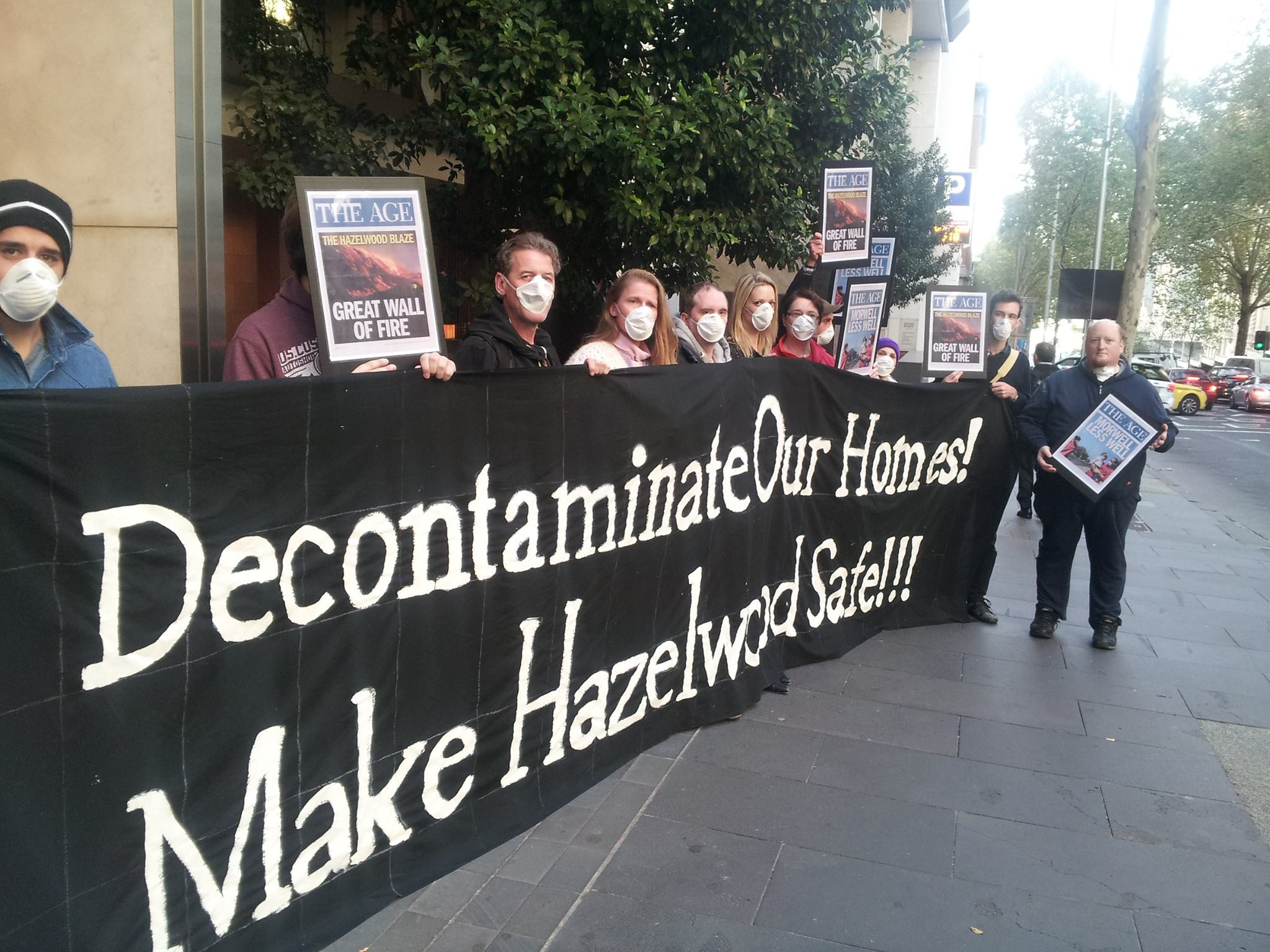 Melbourne -Decontaminate before more coal