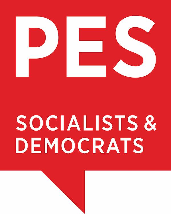 logo PES socialists & democrats