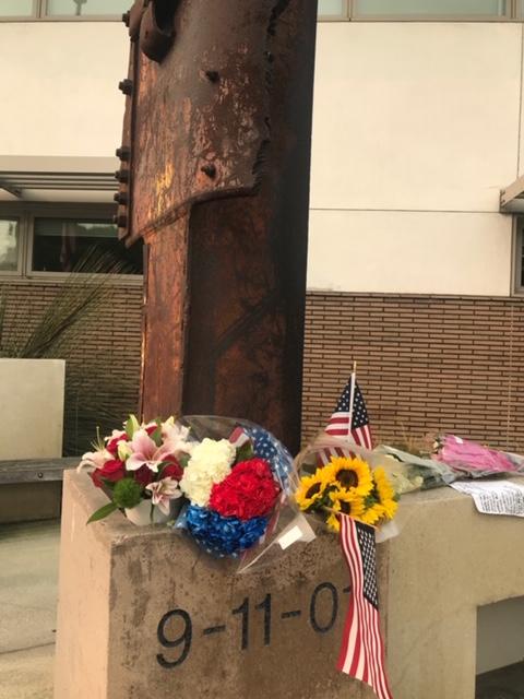 Manhattan Beach Residents Observe 9/11