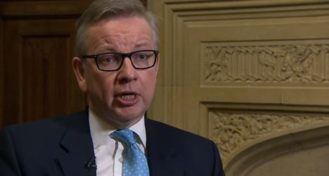 Michael Gove Interview