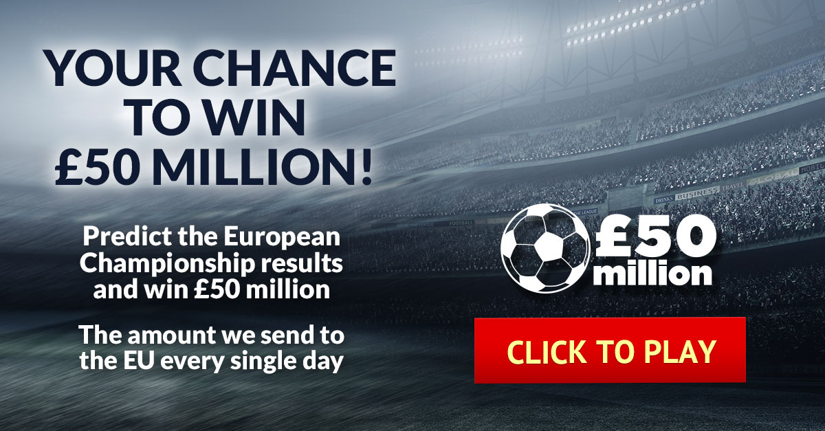 Your chance to win £50 Million