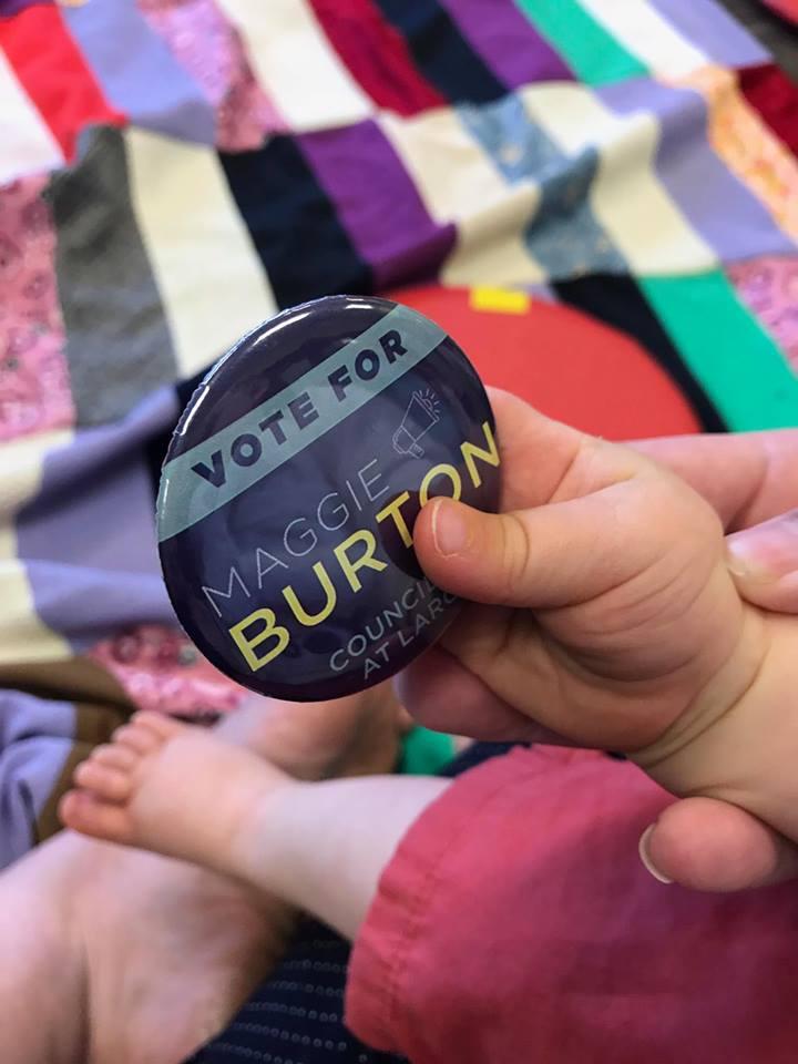 Vote Maggie Burton 2017