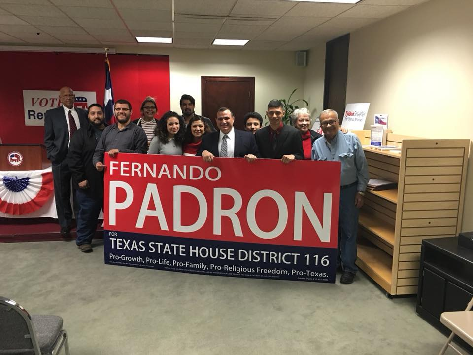 Fernando Padrn for State Representative